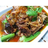 Sweet and sour pork leg